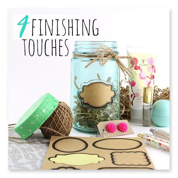 Cute DIY Gift Jar with $1 Craft Supplies