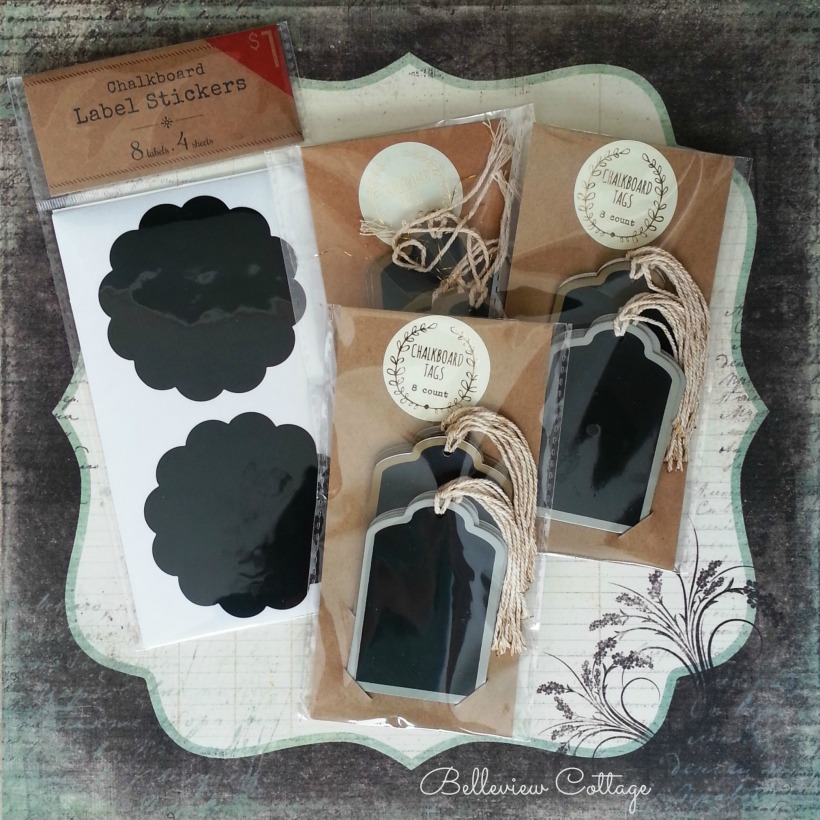 $1 Chalkboard Tags | Belleview Cottage
