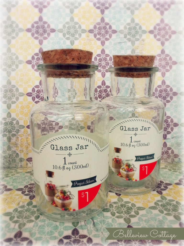 $1 Apothecary Jars | Belleview Cottage