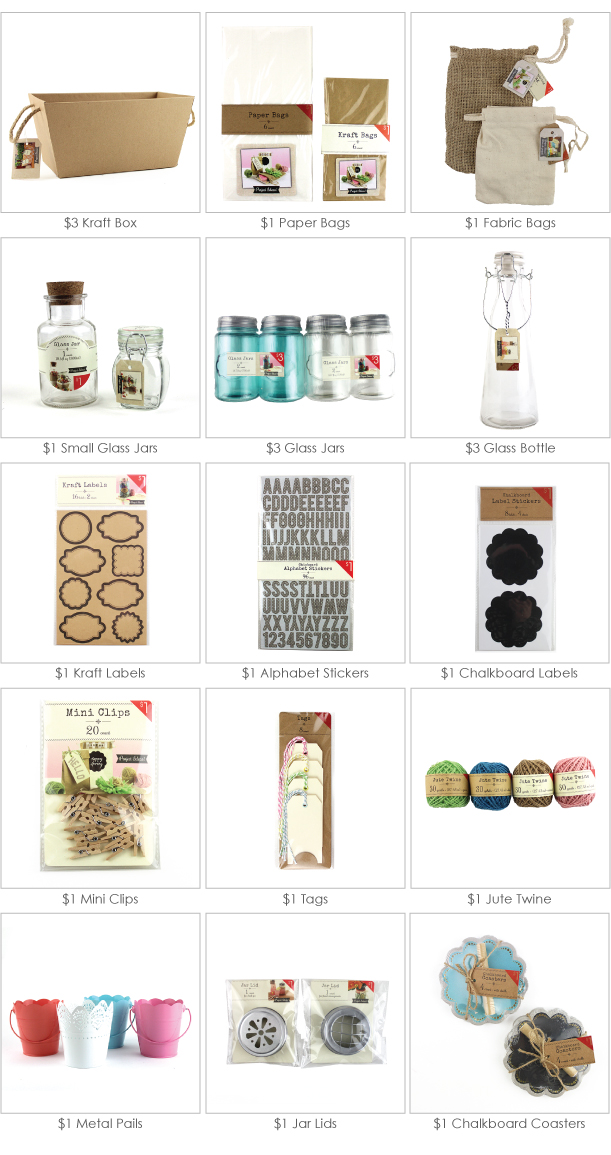 $1 Craft Supplies from Paper & Dots