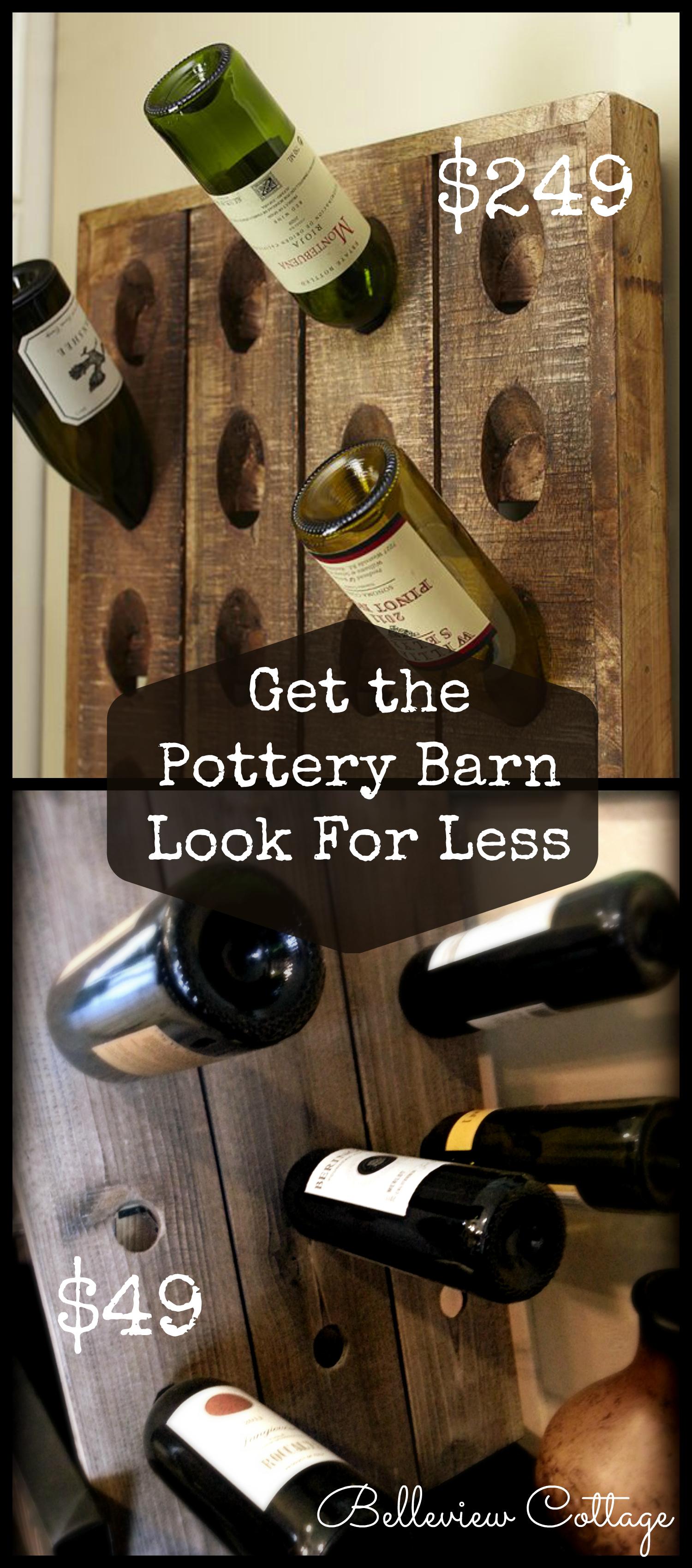 Pdf diy french wine riddling rack plans download furniture for Pottery barn wine rack wood