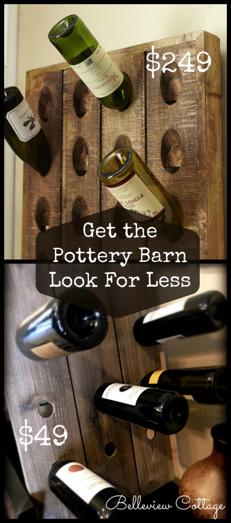 Wine Riddling Rack | Get the Pottery Barn Look for Less | Belleview Cottage