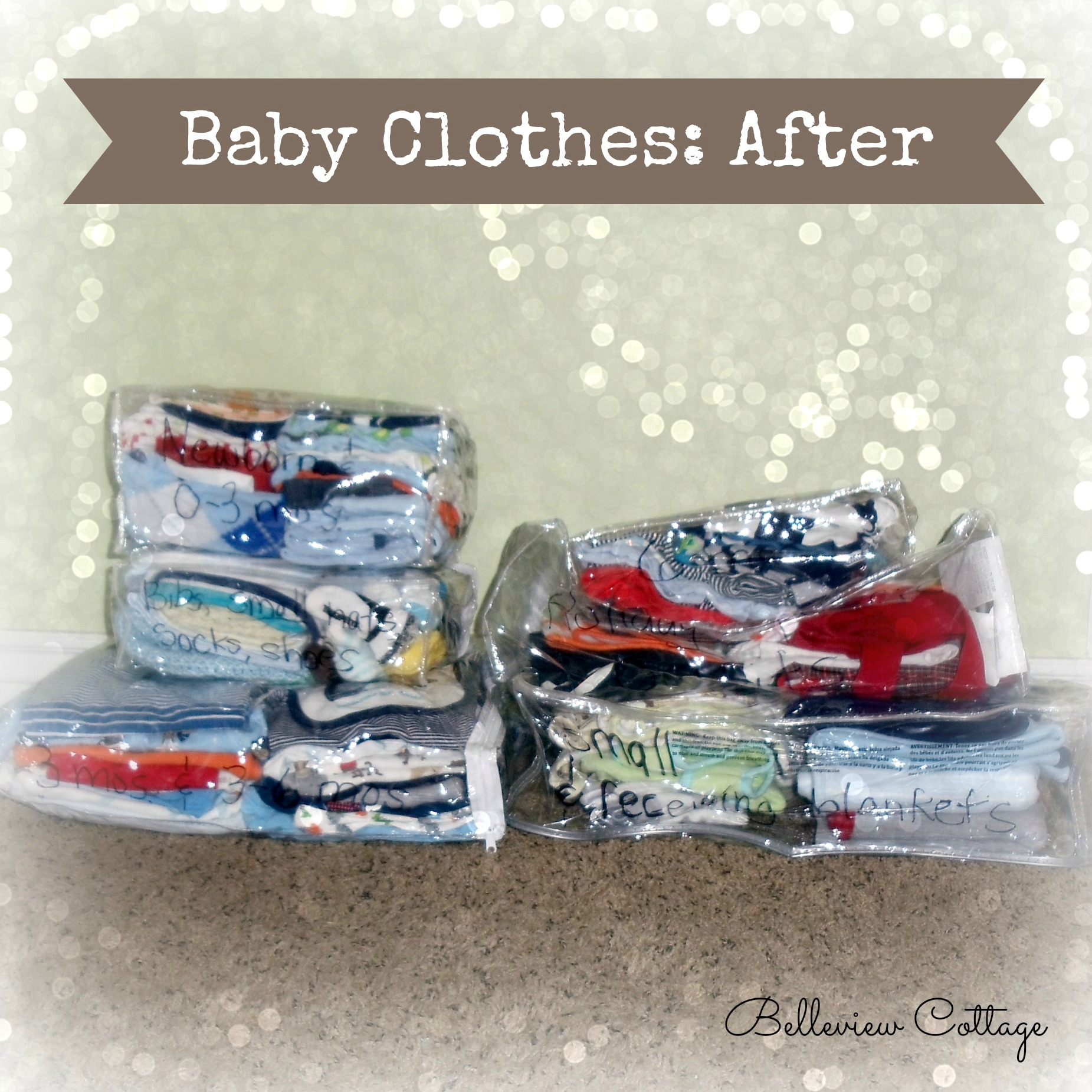 How to organize and store kids clothes life hack for Baby clothes size organizer