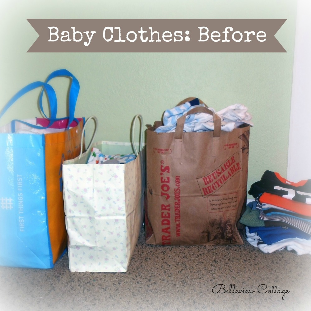 How to Organize & Store Kids' Clothes | Belleview Cottage