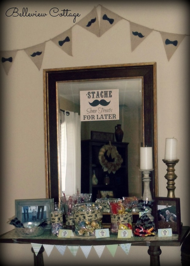 Candy Bar, Favor Table | Little Man Party | Belleview Cottage