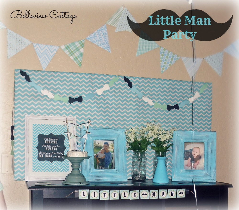 Little Man Party | Belleview Cottage