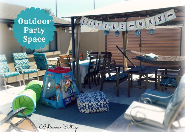 Outdoor Play Area & Party Space | Little Man Party | Belleview Cottage