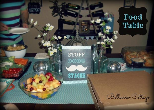Stuff Your Stache | Little Man Party | Belleview Cottage