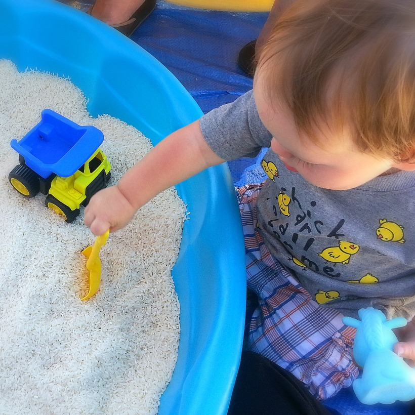 DIY Sensory Play Box | Belleview Cottage