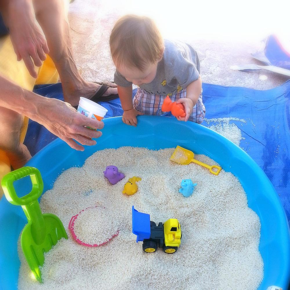 DIY Sensory Play Box   Belleview Cottage
