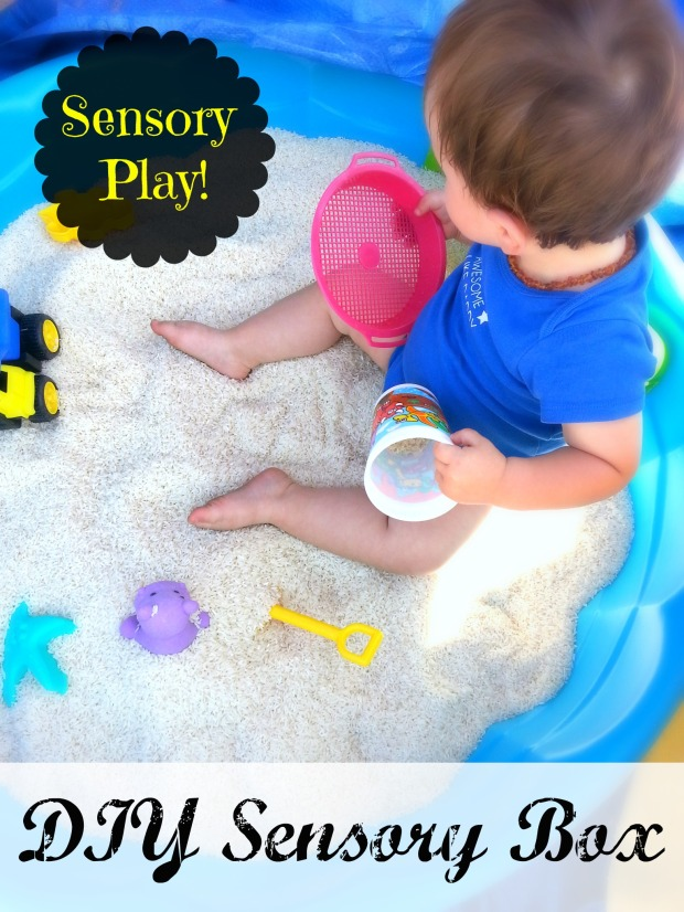 DIY Sensory Box | Belleview Cottage