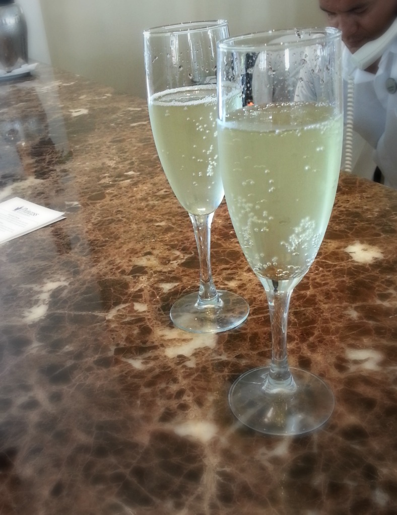 Champagne at Check-In, Platinum and Laguna Villas, Grand Riviera Princess Resort