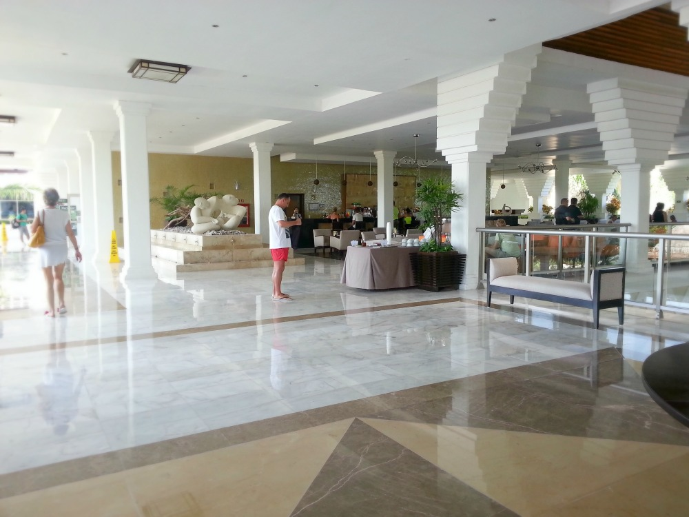 Lobby and Lobby Bar at the Grand Riviera Princess, Playa Del Carmen Mexico