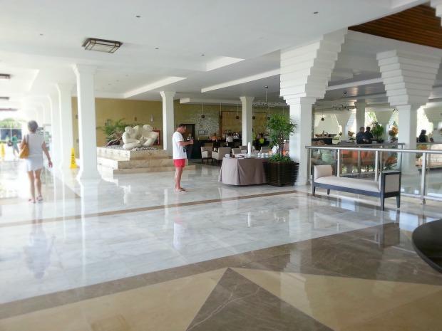 Lobby and Lobby Bar at the Grand Riviera Princess, Playa Del Carmen Mexico