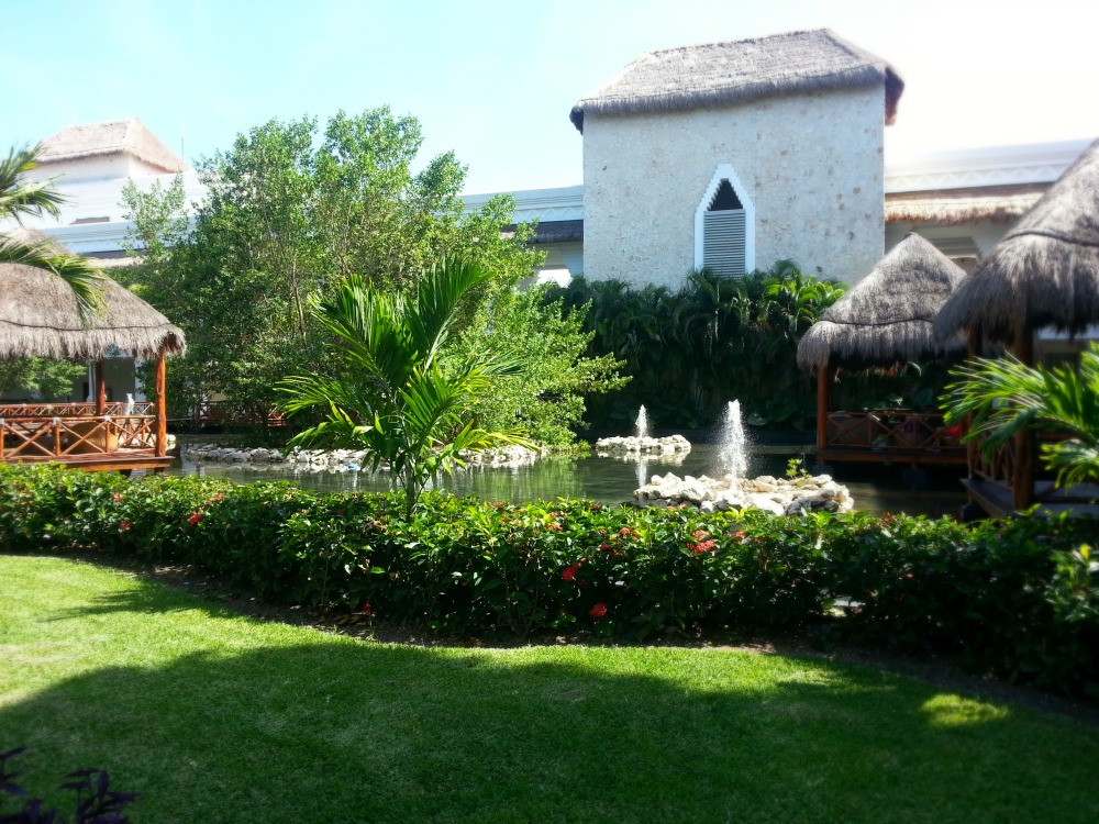 Grounds of the Grand Riviera Princess Resort, Playa Del Carmen, Mexico