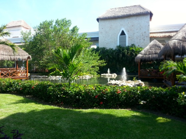 Grounds of the Grand Riviera Princess Resort, Playa Del Carmen, Mexico