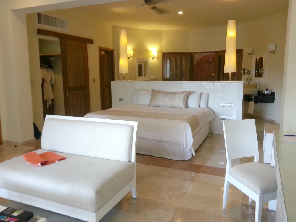 Laguna Villa suite at the Grand Riviera Princess, Playa Del Carmen, Mexico