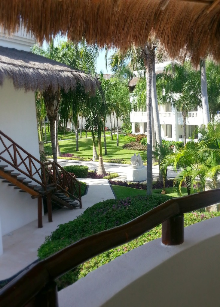 Beautiful grounds at the Grand Riviera Princess, Playa Del Carmen, Mexico