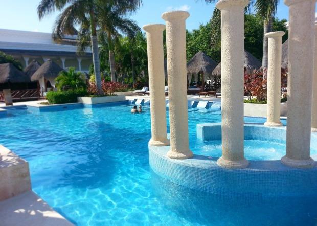 Laguna Villas private pool at the Grand Riviera Princess, Playa Del Carmen, Mexico