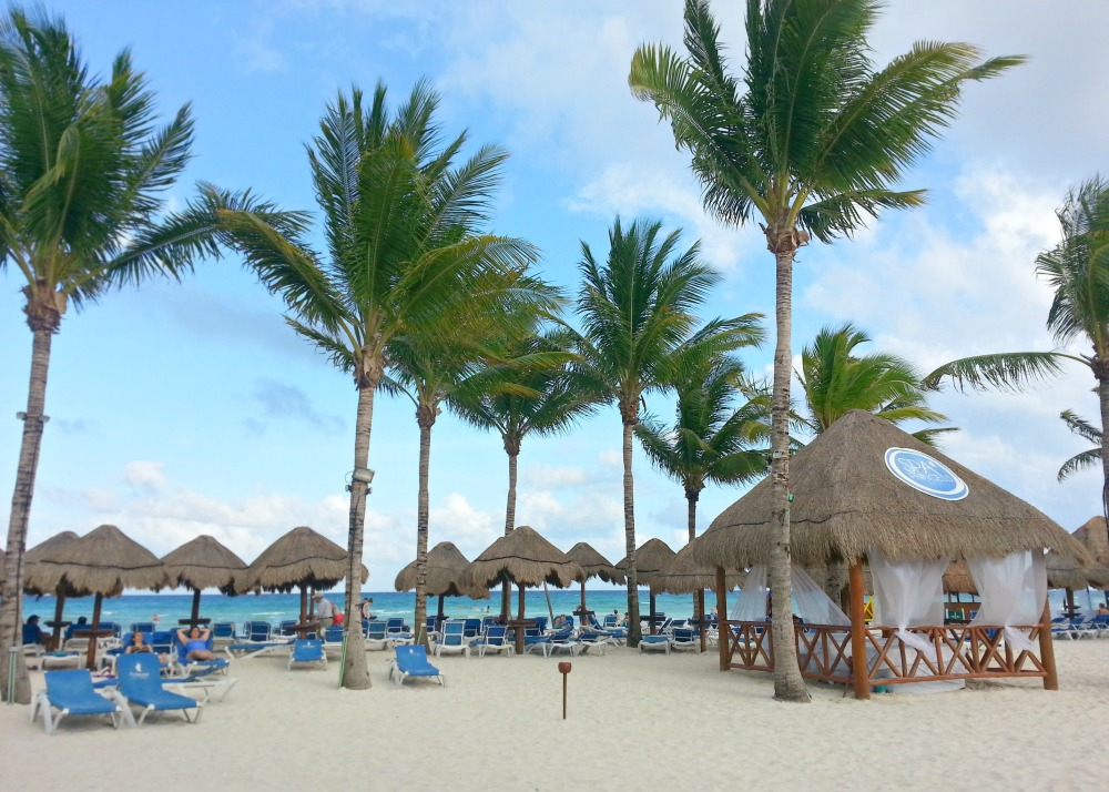Beach at the Grand Riviera Princess resort | Playa Del Carmen, Mexico