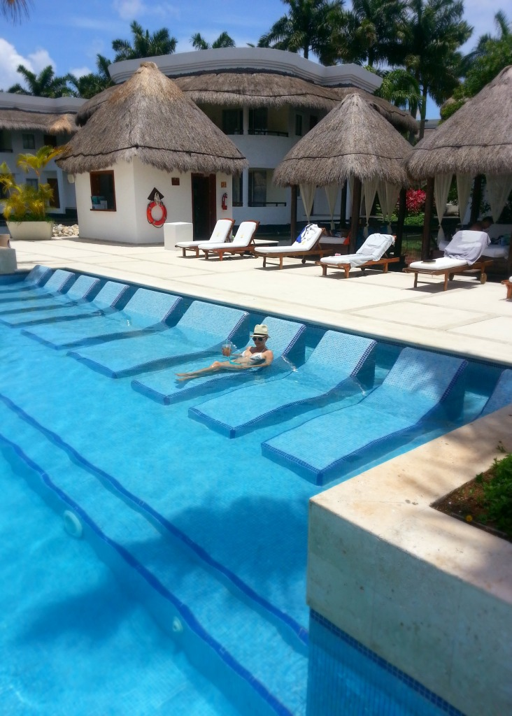 Laguna Villas private pool at the Grand Riviera Princess resort | Playa Del Carmen, Mexico