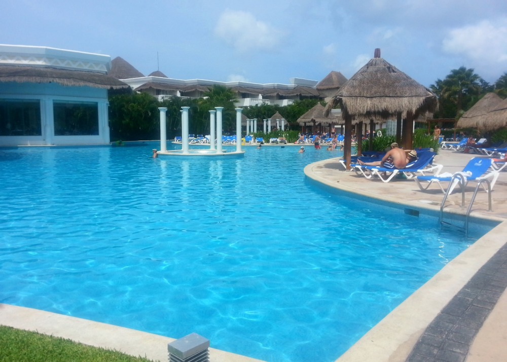One of the many pools at the Grand Riviera Princess resort | Playa Del Carmen, Mexico