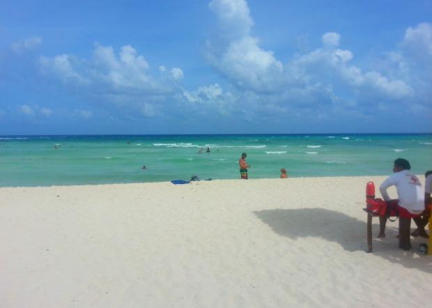 Beach at the Grand Riviera Princess resort | Playa Del Carmen, Mexico