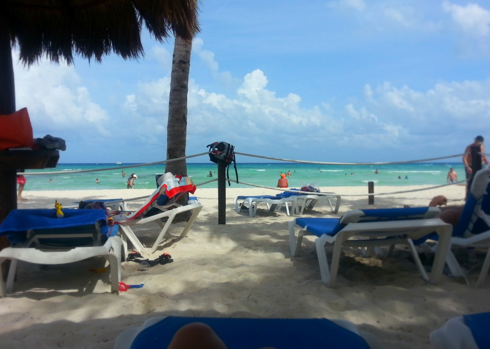 The beach at the Grand Riviera Princess resort | Playa Del Carmen, Mexico