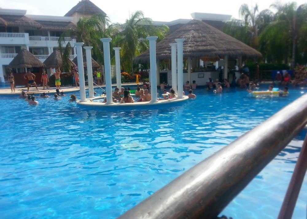 One of the many pools at the Grand Riviera Princess resort | Playa Del Carmen, Mexico