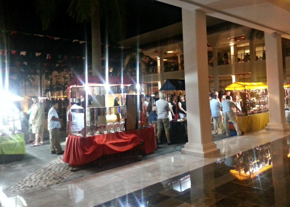 Marketplace at the Grand Riviera Princess resort | Playa Del Carmen, Mexico