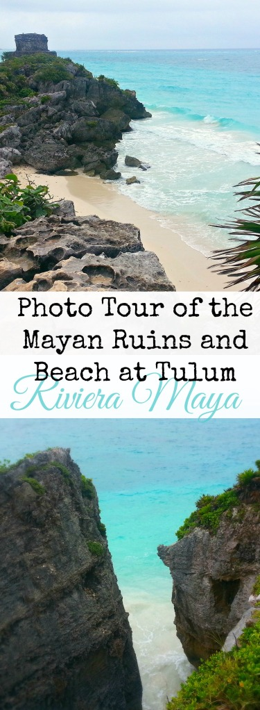 A photo tour of the Mayan ruins and beautiful beach at Tulum, in Riviera Maya, Mexico | Belleview Cottage