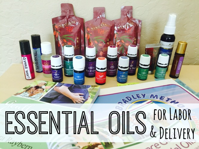 Essential Oils for Labor & Delivery - Childbirth
