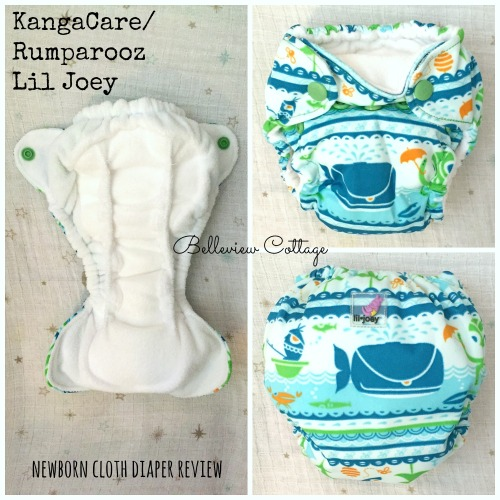 Lil Joey Cloth Diaper Review: Compare newborn cloth diapers | Belleview Cottage