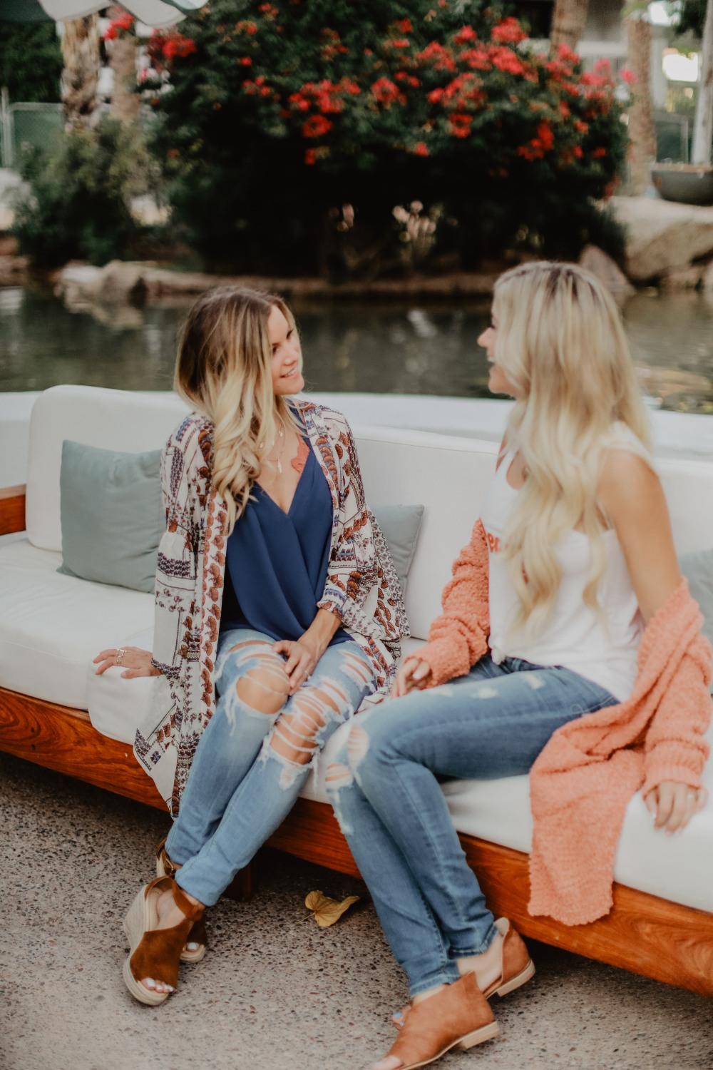 Fall transitional outfits from Blooming Cactus Boutique